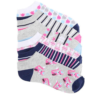 Mix No. 6 Foxes No Show Socks - 6 Pack - Women's