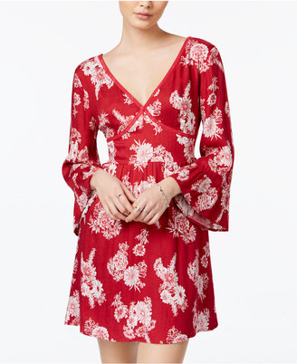 American Rag Floral-Print Fit & Flare Dress, Only at Macy's $69.50 thestylecure.com