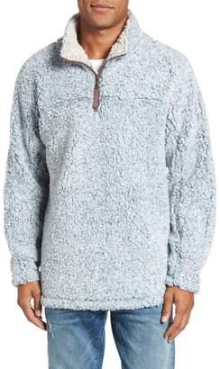 True Grit Marled Quarter Zip Pullover