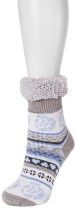 Muk Luks Women's Fluffy Cabin Socks