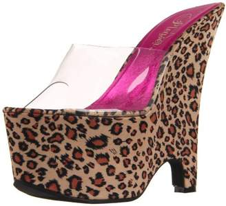 Pleaser USA Women's BEAU-601LP/C/TLPPSA