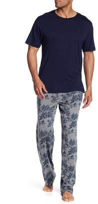 Tommy Bahama Cotton Blend Pajama 2-Piece Set