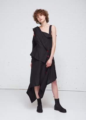 Yohji Yamamoto Open Zigzag Dress