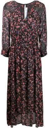 IRO Sirthy neck paisley dress