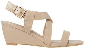 Dorothy Perkins Nude Rosina Wedge Sandals