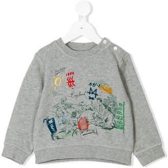 Burberry printed sweatshirt