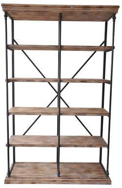 Gracie Oaks Cassilyn Etagere Bookcase