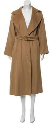 Max Mara Camel Long Coat Tan Camel Long Coat