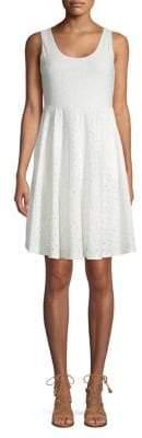 Cupio Sleeveless Eyelet Dress