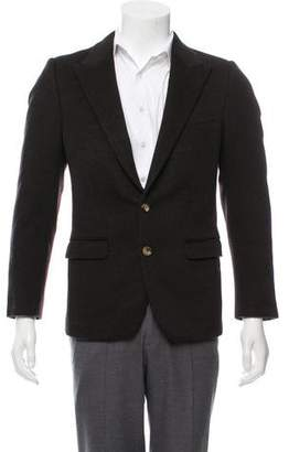 Dolce & Gabbana Peak-Lapel Cashmere Blazer