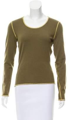 Celine Cashmere Scoop Neck Sweater