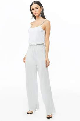 Forever 21 Cami Micro-Pleat Jumpsuit