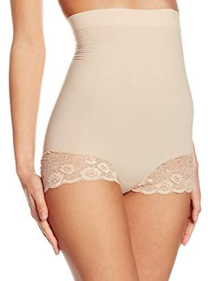 Cette Women's Glamour High Brief Control Knickers,(Manufacturer Size:Small)