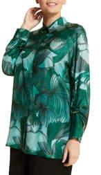 Marina Rinaldi Fiorenza Silk Shirt