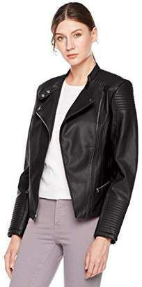 Moto Otterline Women's Washable PU Slim-Fit Jacket L
