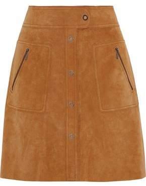 Maison Margiela Suede Mini Skirt