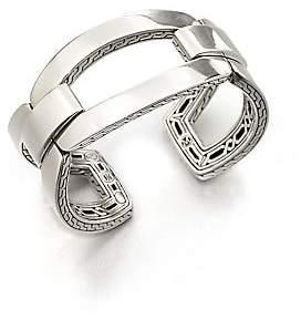 John Hardy Women's Classic Chain Sterling Silver Link Cuff Bracelet