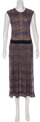 Tory Burch Sleeveless Maxi Knit Dress