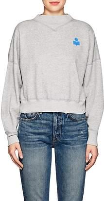 Etoile Isabel Marant Women's Madilon Cotton-Blend Fleece Sweatshirt
