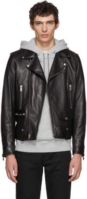 Saint Laurent Black L01 Moto Jacket