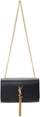 Saint Laurent Black Medium Kate Tassel Bag