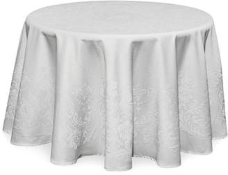 "Waterford Celeste Tablecloth, 90"" Round"