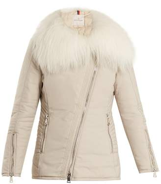 Moncler Choisia fur-trimmed down jacket