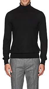 Barneys New York Men's Wool Turtleneck Sweater-Black