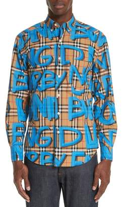 Burberry Jameson Plaid Shirt