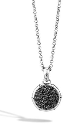 Women's John Hardy 'Bamboo' Small Round Pendant Necklace $595 thestylecure.com