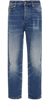 Ami Faded Cropped Jeans