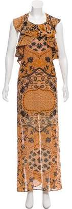 For Love & Lemons Floral Maxi Dress w/ Tags