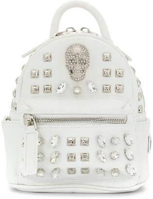 Philipp Plein Shiny Skull mini backpack