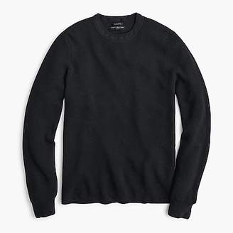 J.Crew Destination merino wool waffle-knit crewneck sweater