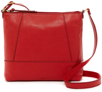 Fossil Rae Leather Mid Crossbody $178 thestylecure.com