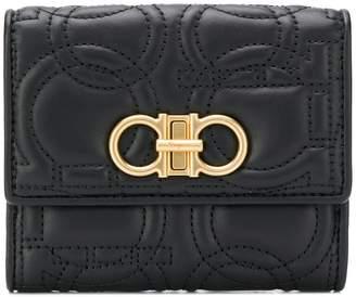 Salvatore Ferragamo Gancino quilted wallet
