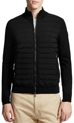 Moncler Knit & Puffer Cardigan $850 thestylecure.com