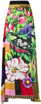 Mary Katrantzou printed full skirt
