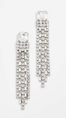 Kate Spade Glitzville Chain Fringe Earrings