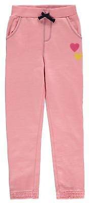 Crafted Kids Girls Table Joggers Infant Fleece Jogging Bottoms Trousers Pants