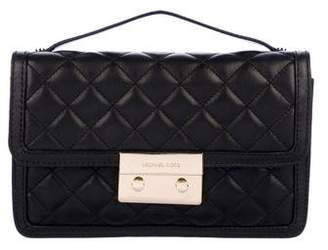 Michael Kors Quilted Leather Flap Bag