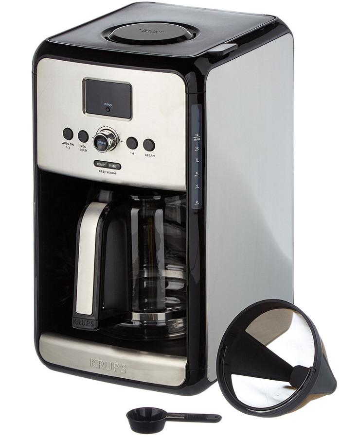Krups Savoy Programmable Digital Filter Coffee Maker