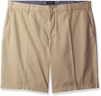 Nautica Men's Big-Tall Flat Front Short
