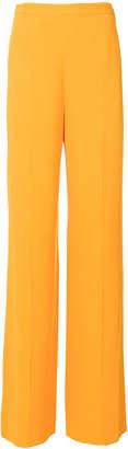 Roberto Cavalli creased wide leg trousers