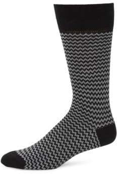 Saks Fifth Avenue Jaspe Pop Mille Socks