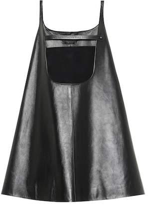 Prada Leather minidress