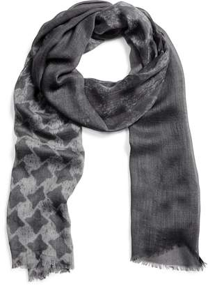 John Varvatos Collection Houndstooth Scarf