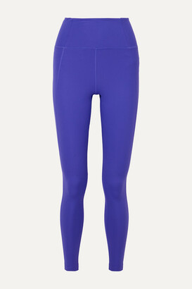 Girlfriend Collective - Compressive Stretch Leggings - Blue