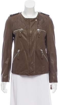 Etoile Isabel Marant Embellished Leather Jacket