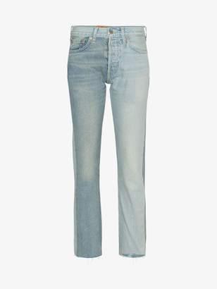 Vetements X Levi reworked blue jeans